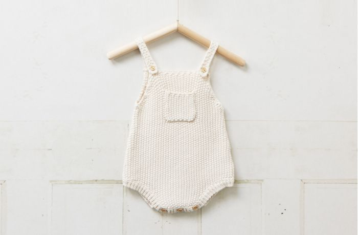 Knitting Pattern Baby Jumpsuit : Baby Love : Knitted Romper Coco and The Gang